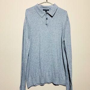 Banana Republica Cashmere Blend Collared Sweater
